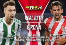 Prediksi Akurat Real Betis vs Girona 20 Januari 2019