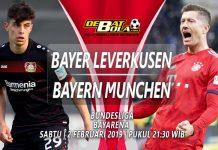 Prediksi Bayer Leverkusen vs Bayern Munchen 2 Februari 2019