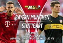 Prediksi Bayern Munchen vs Stuttgart 27 Januari 2019