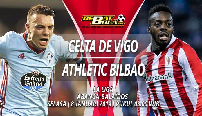 Prediksi Celta Vigo vs Athletic Bilbao 8 Januari 2019