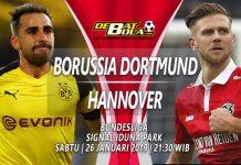 Prediksi Dortmund vs Hannover 26 Januari 2019