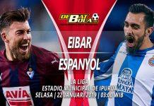 Prediksi Eibar vs Espanyol 22 Januari 2019