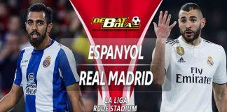 Prediksi Espanyol vs Real Madrid 28 Januari 2019