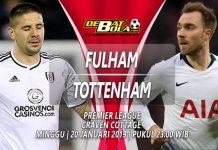 Prediksi Fulham vs Tottenham, Pekan ke-23 Liga Inggris