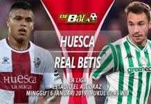 Prediksi Huesca vs Real Betis 6 Januari 2019