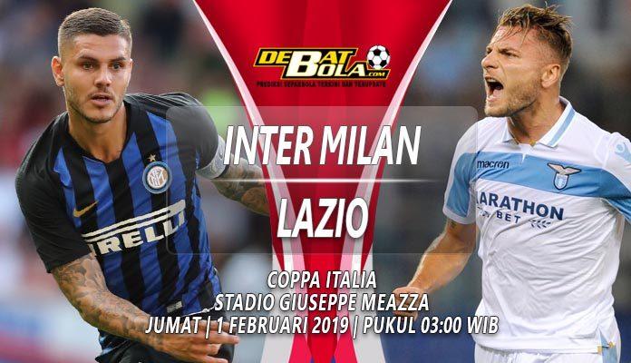 Prediksi Inter Milan vs Lazio 1 Februari 2019