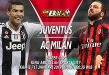 Prediksi Juventus vs Milan 17 Januari 2019