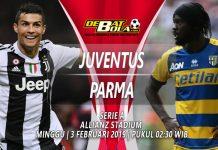 Prediksi Juventus vs Parma 3 Februari 2019