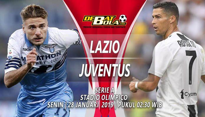 Prediksi Lazio vs Juventus 28 Januari 2019
