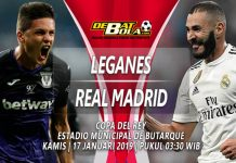 Prediksi Leganes vs Real Madrid 17 Januari 2019