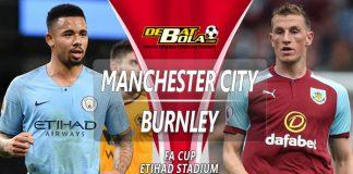 Prediksi Manchester City vs Burnley 26 Januari 2019