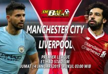 Prediksi Manchester City vs Liverpool 4 Januari 2019