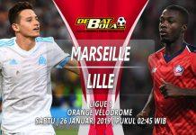 Prediksi Marseille vs Lille 26 Januari 2019