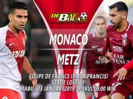 Prediksi Monaco vs Metz 23 Januari 2019