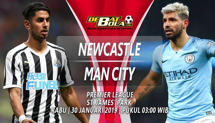 Prediksi Newcastle vs Manchester City 30 Januari 2019