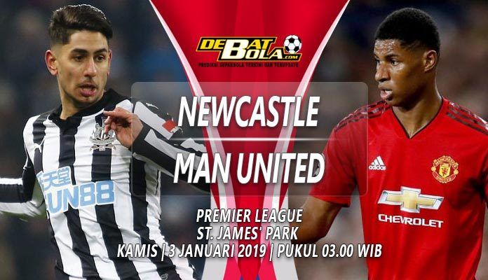 Prediksi Bola Newcastle vs Manchester United 3 Januari 2019