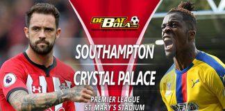 Prediksi Southampton vs Crystal Palace 31 Januari 2019