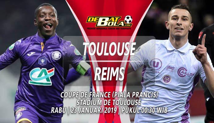 Prediksi Toulouse vs Reims 23 Januari 2019