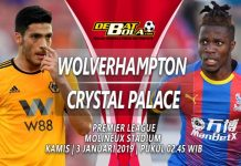 Prediksi Skor Wolverhampton vs Crystal Palace 3 Januari 2019