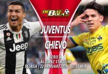 Prediksi Skor Juventus vs Chievo 22 Januari 2019