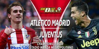 Prediksi Atletico Madrid vs Juventus 21 Februari 2019