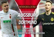 Prediksi Augsburg vs Borussia Dortmund 2 Maret 2019