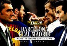 Prediksi Barcelona vs Real Madrid 7 Februari 2019