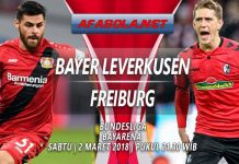 Prediksi Bayer Leverkusen vs Freiburg 2 Maret 2019