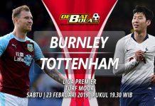 Prediksi Burnley vs Tottenham 23 Februari 2019