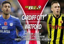 Prediksi Cardiff vs Watford 23 Februari 2019