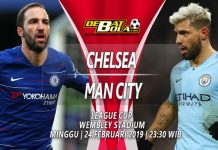 Prediksi Chelsea vs Manchester City 24 Februari 2019