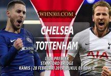 Prediksi Chelsea vs Tottenham 28 Februari 2019