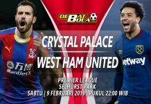 Prediksi Crystal Palace vs West Ham 9 Februari 2019