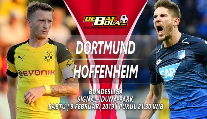 Prediksi Borussia Dortmund vs Hoffenheim 9 Februari 2019
