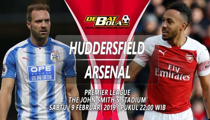 Prediksi Huddersfield vs Arsenal 9 Februari 2019