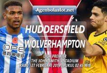Prediksi Huddersfield vs Wolverhampton 27 Februari 2019