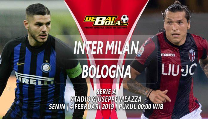 Prediksi Inter Milan vs Bologna 4 Februari 2019