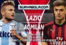 Prediksi Lazio vs AC Milan 27 Februari 2019