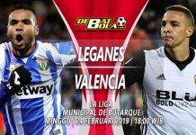 Prediksi Leganes vs Valencia 24 Februari 2019