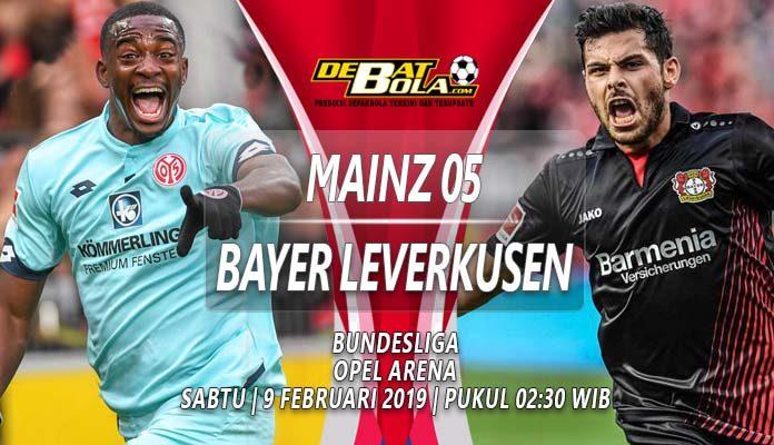 Prediksi Mainz vs Bayer Leverkusen 9 Februari 2019