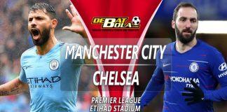 Prediksi Manchester City vs Chelsea 10 Februari 2019