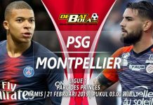 Prediksi PSG vs Montpellier 21 Februari 2019