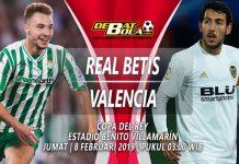 Prediksi Real Betis vs Valencia 8 Februari 2019