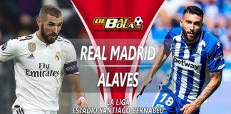 Prediksi Real Madrid vs Alaves 4 Februari 2019