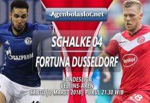 Prediksi Schalke vs Fortuna Dusseldorf 2 Maret 2019