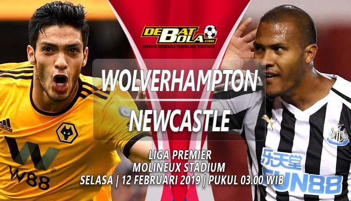 Prediksi Wolverhampton vs Newcastle 12 februari 2019