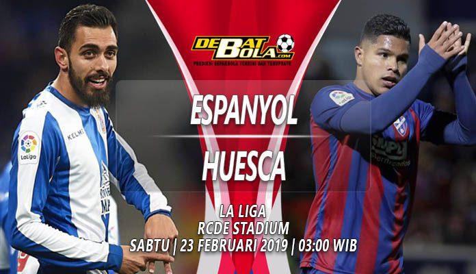 Prediski Espanyol vs Huesca 23 Februari 2019