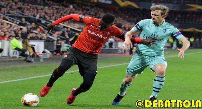 Arsenal vs Rennes 15 Maret 2019