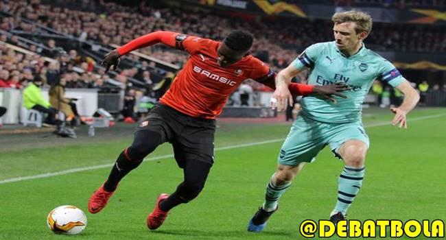 Arsenal vs Rennes 15 Maret 2019