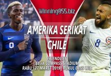 Prediksi Amerika Serikat vs Chile 27 Maret 2019